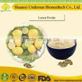 Natural fruit flavor drink lemon powder Citrus limon extract