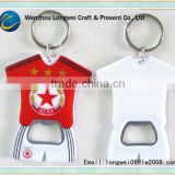 t shirt shaped beer bottle opener fridge magnets/bottle openers