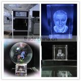 Multiple Technical 3D photo inisde crystal laser gift process machine with CE certificate