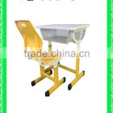 modern combo desk school desk with bench HXZY047