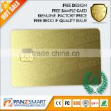 High security JCOP chip / CPU Contactless Smart IC RFID card/ Java Card/ dual Interface CPU Card / Programmable smart card