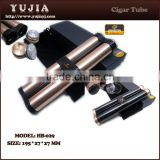 Yujia promotion cigar tubes cohiba custom aluminum cigar tube cigar custom product with gift box