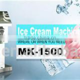High swelling Single flavors Ice Cream Machine counter top stainless steel007