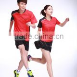 customized;quick-drying ,T-shirt ;racing suit Badminton clothing MS-16115