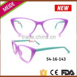 Magnetic cat eye optical glasses frame prescription eyeglass frame for women                                                                                                         Supplier's Choice