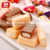 Yake 250g wholesale toffee candy bar with fruit flavor