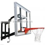 wall mounted acrylic backboard basketball hoop