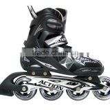 ACTION brand Skate Roller Shoes ABEC-7 Bearing Skates Aluminum Trucks Skates Inline Skate Shoes