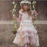2016 New Baby Clothing One Piece Girls Party Dresses For Lace Dress Frock designs Lace dress designs