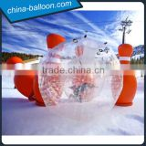 Rolling ball, inflatable bowling zorb ball, giant human bubble ball for adults