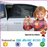 Hot Sale Black Portable Net Cloth Fabric Baby Car Window Sun Shade                                                                         Quality Choice