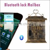 Hot Selling Bluetooth Electronic Steel Antique Apartment Building Mailbox Locks