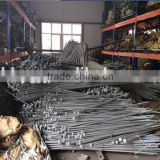 Galvanized ground rod earth rods with clamp for overhead pole line hardware 11kv/33kv stay rod