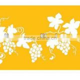 Cake stencil in Grape Vine set for cake side decorating