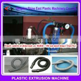 PVC PU TPU steel enhance spiral pipe extrusion machine