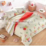Elegant Thicken Sanded Cashmere Luxury embroidered bed sheet sets,Reactive Printed 4 pcs Bedclothes Duvet Cover