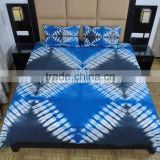Tie Dye Bedding Set Indian Bedspread With Shams Bohemian Bed Cover With Pillow Cover Cotton Bed Sheet