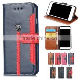 flip crazy horse pattern case cover for cell mobile smart phone with card holder for Meizu m3 note mini mx5 4 pro 6 5 4 3 2 1