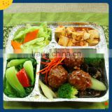 food packaging aluminium foil tray take away food storage container restaurant aluminium foil container/box