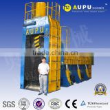 AUPU HBS hydraulic Scrap Car Shear baler
