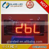 16'' outdoor led time and temp display IP65 digital countdown wall clock 7 segment display