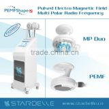 Radio Frequency Low Frequency 0.8Mhz Deep Dermis Skin Tighten