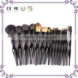 Fine new 15pcs per set professional make up brush set selected animal's hair customization comestic brush