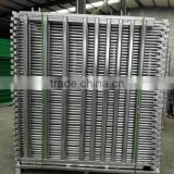Heavy duty galvanized oval tube portable horse/cattle fence panel/gate used as livestock cattle fence in farm ISO factory expert