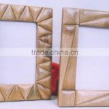 Bamboo Horn and Bone Asian Indian Handicrafts Frames