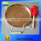 Chinese brass hand gong,hand brass gong,antique chinese gong 400mm/460mm/600mm