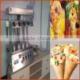 Gongyi Meida Made Hourly 480-600pcs Stainless Steel Commercial ice cream cone wafer biscuit machine Pizza Cone Making Machine