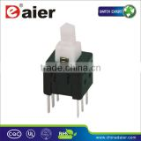 INQUIRY ABOUT KFC6*6-A ON ON latching push switch