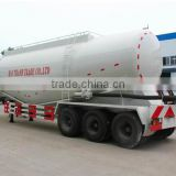 cement discharging semi-trailer,bulk cement tanker semi-trailer