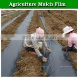 Polyethylene plastic mulching film for agriculture, lldpe plastic film for mulched soil, black mulch film for sale