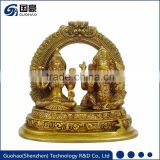 Custom indian handicrafts laxmi ganesh idol statue