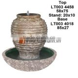 East Asia Curved High Quality Streaky Ceramic Water Fountain For Wholesalers