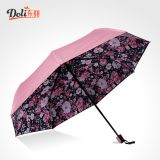 Manufacturer direct selling double solar umbrella top selling products double triple folding umbrella rubber paint