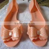 New popular ladies jelly shoe