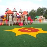 Import china products hot sale colored artificial grass lawn for balconies artificial flower ornament