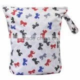 Polyester Material Diaper Wet Bag washable diaper bag baby bags for mothers pul fabric waterproof china wholesale