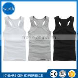 latest 100 cotton custom tank top/ mens fashion tank top/ sleeveless tee shirt blank