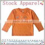 boys garment stcok kids cotton t shirt cheap wholesale