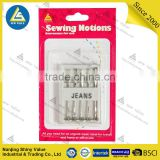 Shiny Value Best Quality Organ Domestic Sewing Machine Needles Universal Needles Jersey Needle For Jeans & General Fabric