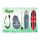 customized Epoxy Stand Up Paddle Board , longboards for girls Yoga