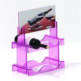 Manufacturer Colorful Wine Bottle Stand Various Shapes Stackable Wine Racks Display