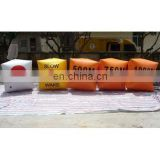inflatable cake slice sealed air buoys float for marine event advertising