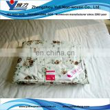 Thermal bonded polyester batting of summer comforter