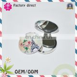 Chinese handheld ceramic makeup mirror