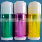 5ml custom comestic empty flat shape lip balm container with bullet