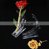 Home decoration acrylic glass flower vases wholesale